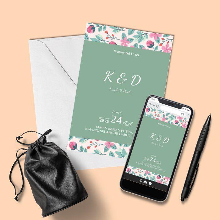 Design By Kadkawen My Online Invitations Invitations Kad Kahwin