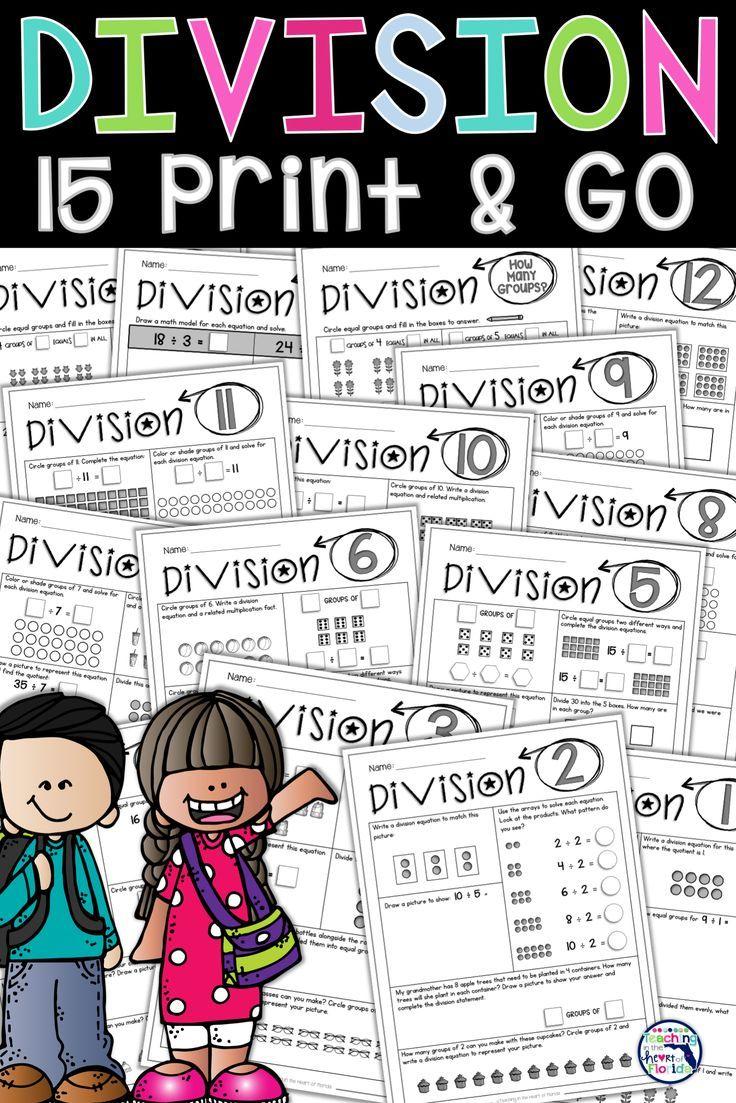 Division Worksheets 3rd Grade Division Worksheets Division Activities 3rd Grade Math [ 1103 x 736 Pixel ]