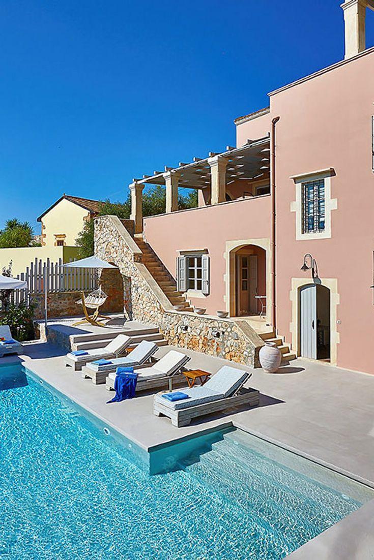Villa Rouga in Xirosterni, Chania, Crete