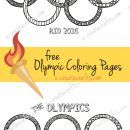 Free Printable Olympic Coloring Pages