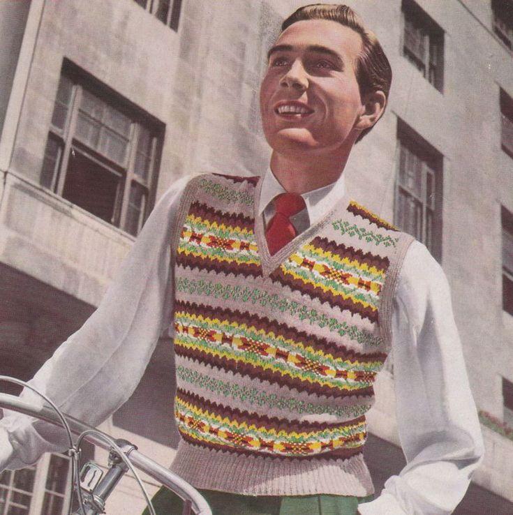 10 best Vintage fair isle designs in knitting images on Pinterest ...