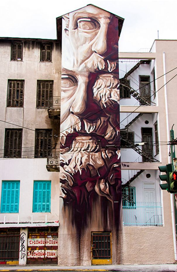 17 best 4 the love of Athens Street Art images on Pinterest | Urban ...