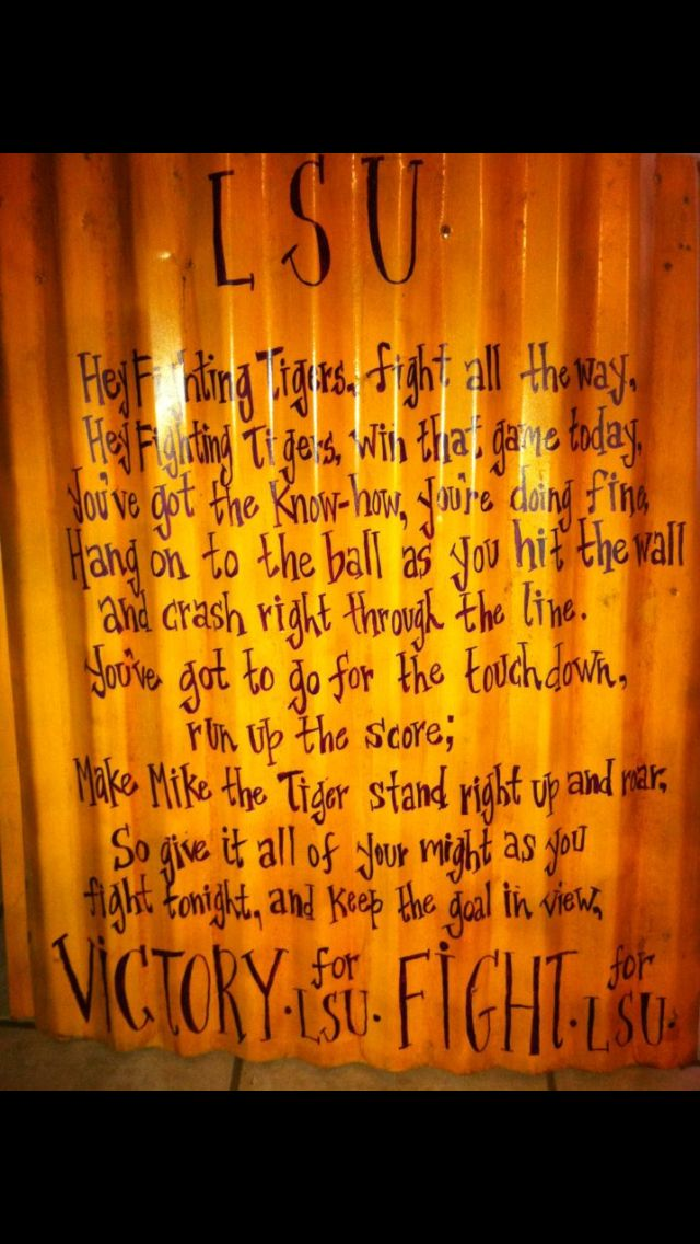 LSU Fight Song