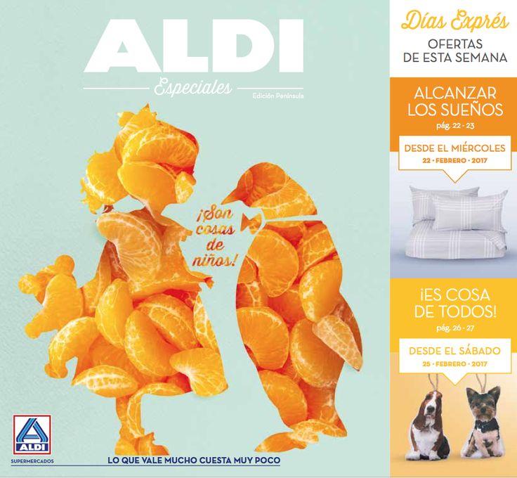 Folleto ALDI del 20 al 26 de febrero -  Catálogo ALDI en vigor del 20 al 26 de Febrero de 2017.   #CatálogosAldi, #Folletosonline   Ver en la web : https://ofertassupermercados.es/folleto-aldi-del-20-al-26-febrero/
