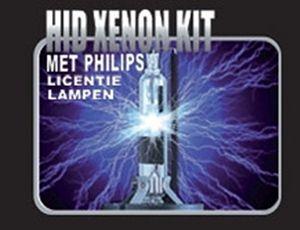 HID XENON kits voorzien van Philips lampen - scherpe prijzen Xenon kits
