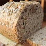 A lovely nutty flavoured loaf perfect for breakfast with lots of butter!