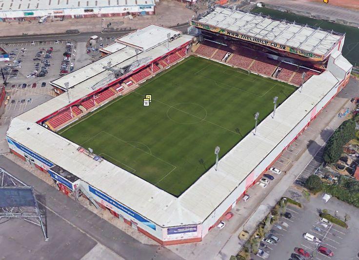 Bescot Stadium - Home of Walsall FC