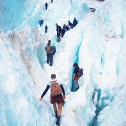 Hike a Glacier in New Zealand...  #Travel