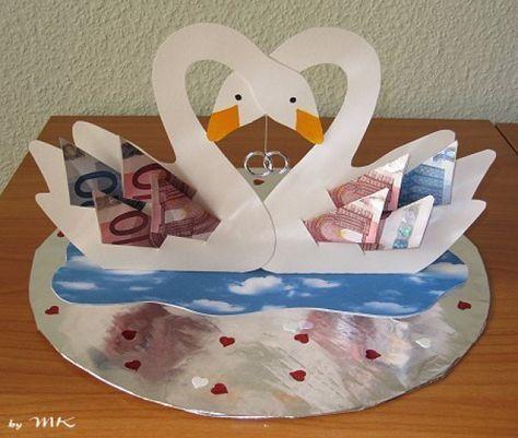 Prächtiges Geldgeschenk zur Hochzeit. – #cash #Ge…