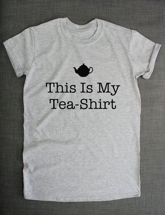 Chemise de thé - c'est mon T-Shirt de thé Tea-Shirt