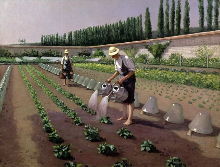 The Gardeners, by Gustave Caillebotte