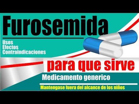 Para que se utiliza la pastilla furosemida