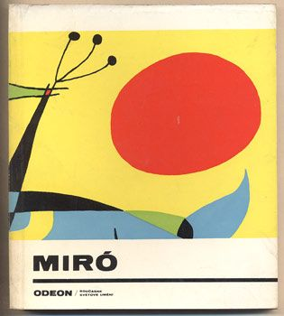 PADRTA, JIŘÍ: JOAN MIRÓ. 1967. Antikvariát PRAŽSKÝ ALMANACH w w w . a r t b o o k . c z