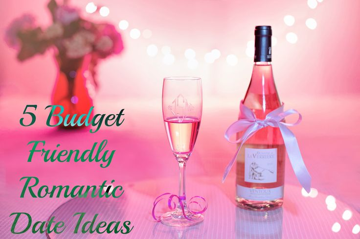 5 budget friendly and romantic date ideas for celebrating your love without spending a lot of money.