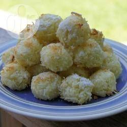 Rezeptbild: Nigerianische Kokosplätzchen (Shuku Shuku)
