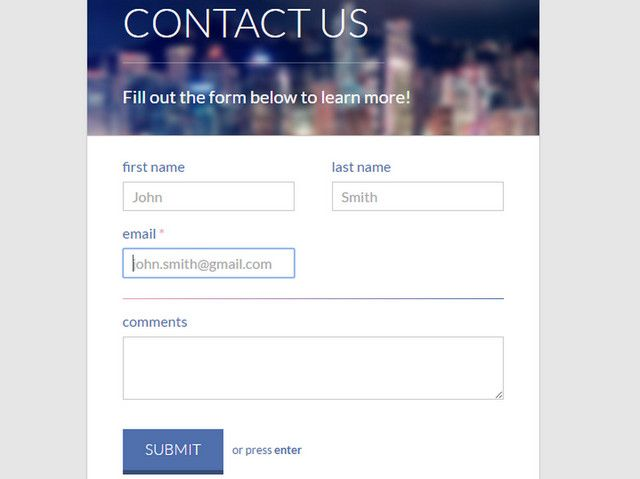 The 25+ best Html contact form ideas on Pinterest