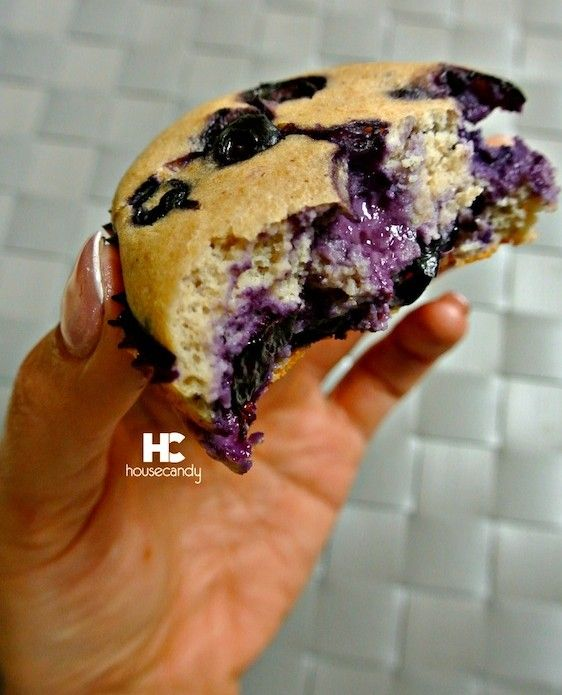 Protein Blueberry Muffins: * 2 cups oat flour * 2 teaspoon baking powder * 2 scoops whey protein  * 2/3 cup Stevia In The Raw * 4 egg whites * 6 ounces nonfat plain Greek yogurt * 1 tablespoon vanilla extract * 2/3 cup coconut water *2 cups fresh blueberries,