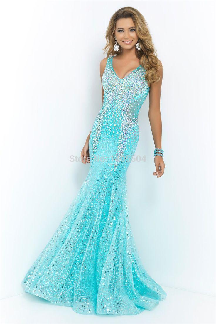 231 best Prom Dresses images on Pinterest   Formal dress, Party wear ...