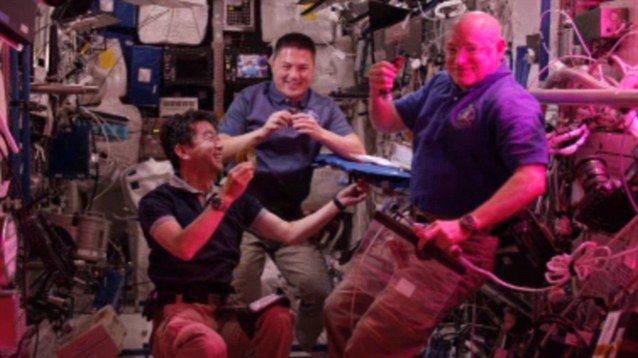 On October 16, 2015, NASA astronaut Scott Kelly became the new record holder for most time in space by an American astronaut.