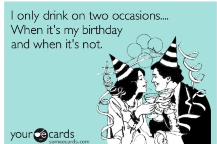 Graphics For Funny Drinks Happy Birthday Graphics – Drinking Birthday Cards