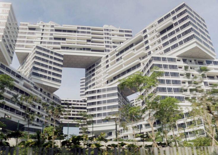 まもなく完成!シンガポールのスタッキングされた集合住宅『インターレース』
