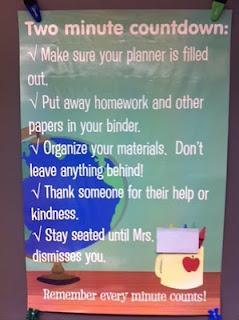Middle school ideas