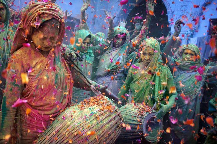 Η γιορτή του Holi στην Ινδία. ©Pascal Mannaerts
