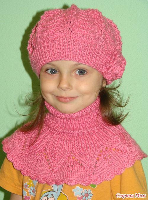 Связался для доченьки такой вот комплект. Нитки Alize Baby Wool. Ушло 4 моточка. Вязала в две ниточки.