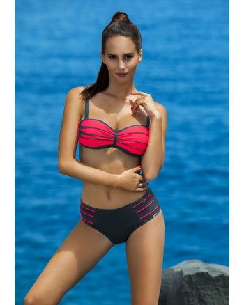 Bikini Venus - nero Madora Collection 2016 #bikini #twopiece #balconette #swimis.com