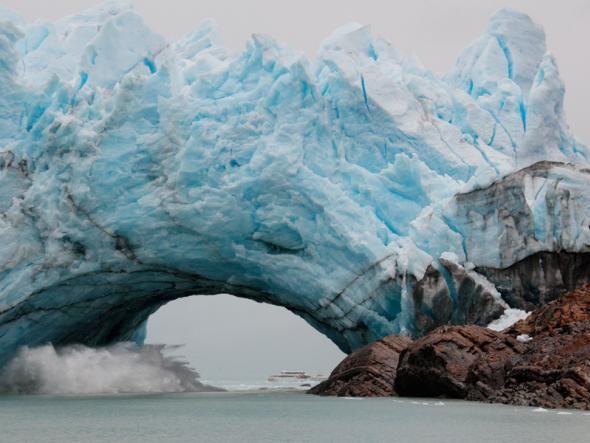 Perito-Moreno-Gletscher in Patagonien