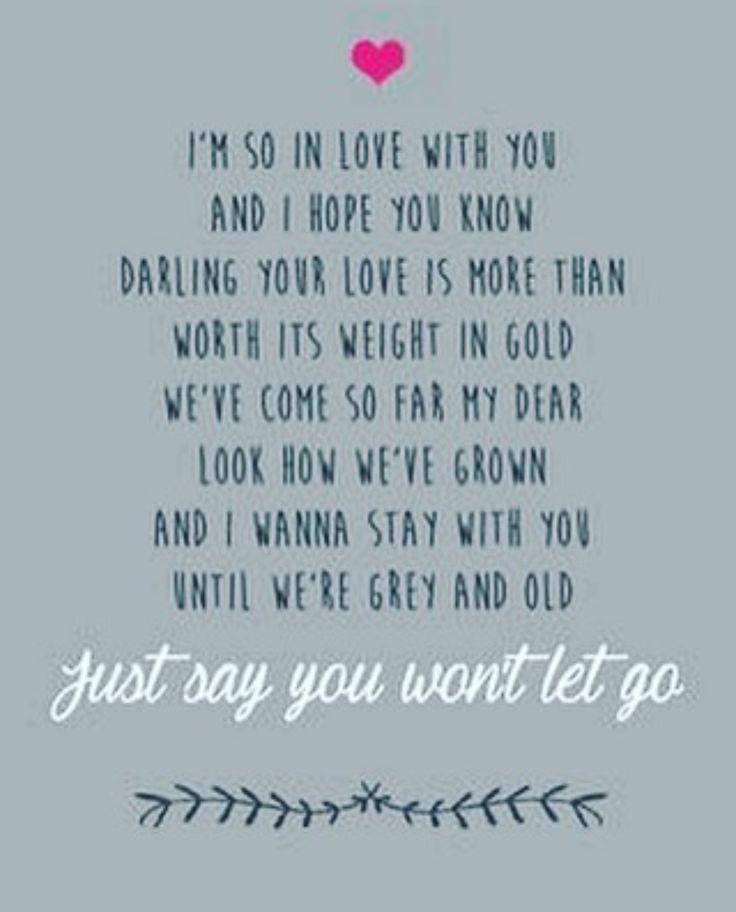 Best 25+ Wedding Song Lyrics Ideas On Pinterest