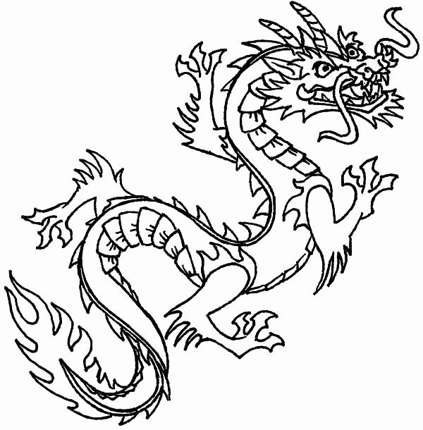 Chinese Dragon Coloring Page Elegant Chinese Dragon Dragon Coloring Page Chinese Dragon Chinese Dragon Tattoos