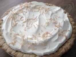 Mounds Coconut Cream Pie