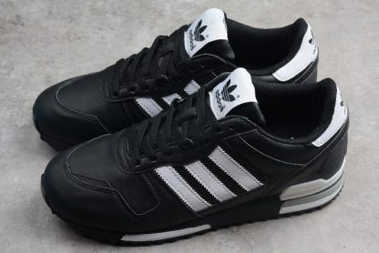 69b02dd994868 adidas Originals ZX 700 Black White Sneakers G63499-1