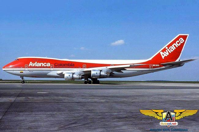 747 de Avianca - Aviacol.net El Portal de la Aviación Colombiana