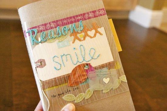 by Abby Setti: Journal Idea, Reasons To Smile, Sb Minis, Mini Albums, Mini Books Albums, Books Ideas, Smile Mini Album