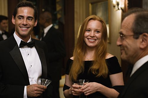 Still of Lauren Ambrose and Adam Kaufman in Loving Leah (2009) <<< My first introduction to the delightful world of Hallmark films