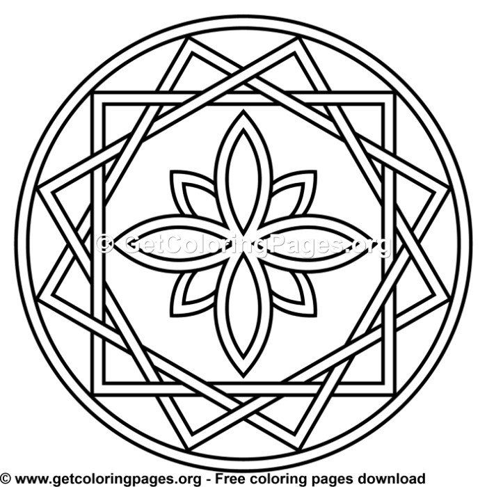 114 Simple Mandala Coloring Pages Mandala Coloring Pages Simple
