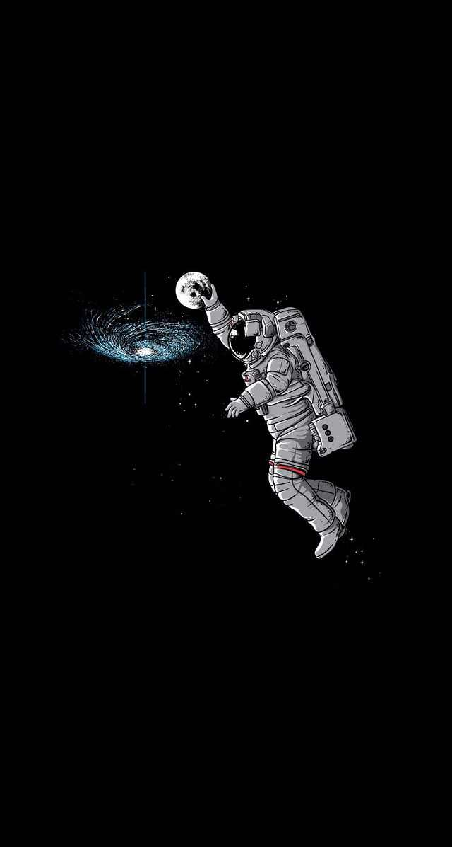 The Magic Of The Internet Astronaut Wallpaper Astronaut Illustration Funny Iphone Wallpaper Cool astronaut wallpapers hd