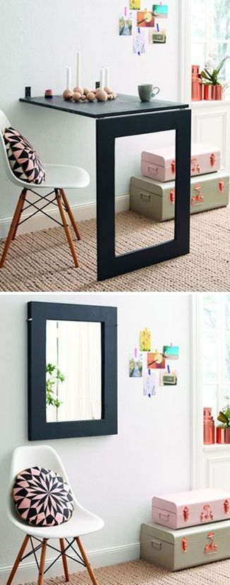 32 Smart And Stylish Folding Furniture Pieces For Small Spaces | DigsDigs
