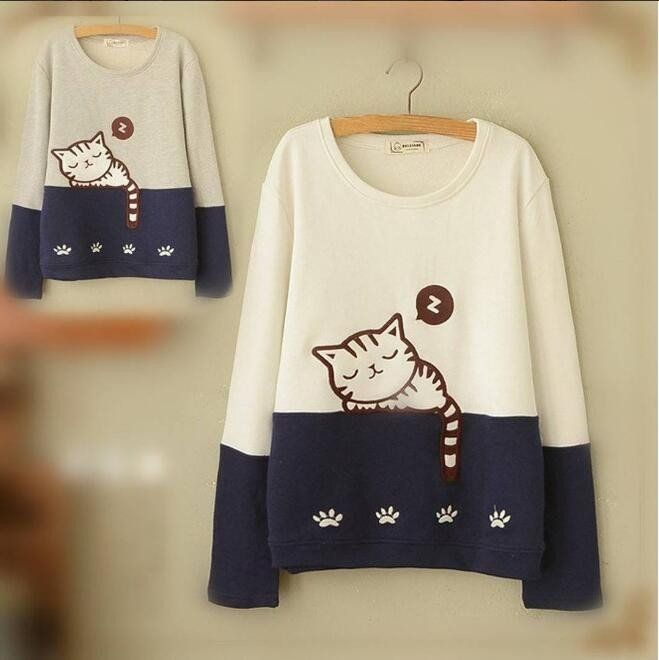 "Cute kawaii cat t-shirt SE9119   Coupon code ""cutekawaii"" for 10% off"