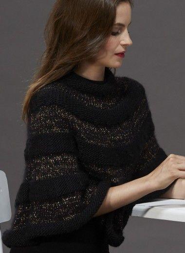 Mag. 09 - #10 Cape | Buy, yarn, buy yarn online, online, wool, knitting, crochet | Buy Online