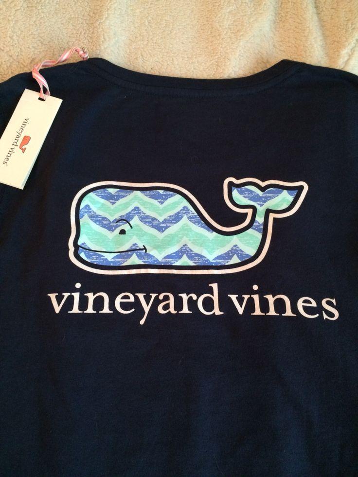 Vineyard Vines chevron whale T-Shirt #VV