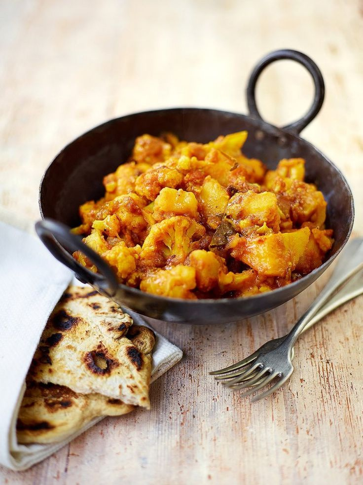 Potato & cauliflower curry
