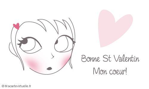 Bonne St-Valentin Mon coeur!