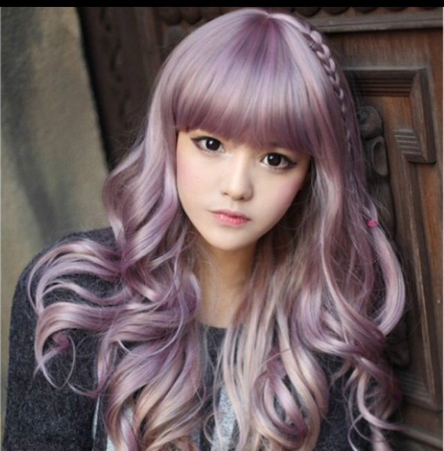 Silver Pastel Lilac Hair Funky Hairstyles To Love