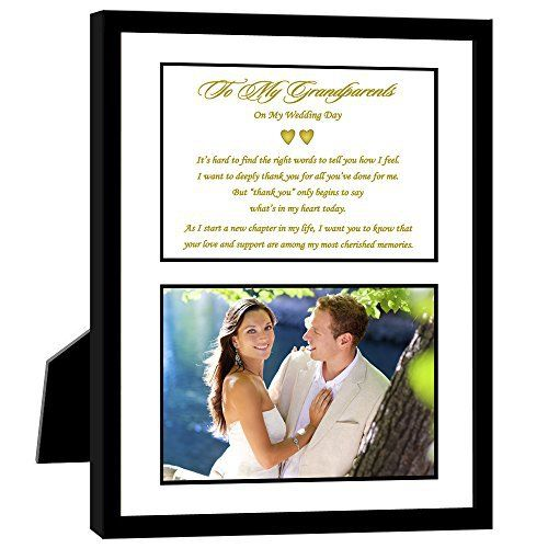 This Poetry Gift makes a wonderful keepsake for Grandma and Grandpa to let them know how much you appreciate all that they have done for you. Poem reads:  To My Grandparents On My Wedding Day It's hard to find the right words to tell you how I feel. I want to deeply thank you for all... more details available at https://perfect-gifts.bestselleroutlets.com/gifts-for-teens/electronics-gifts-for-teens/product-review-for-thank-you-wedding-gift-for-grandparents-mat-board-with
