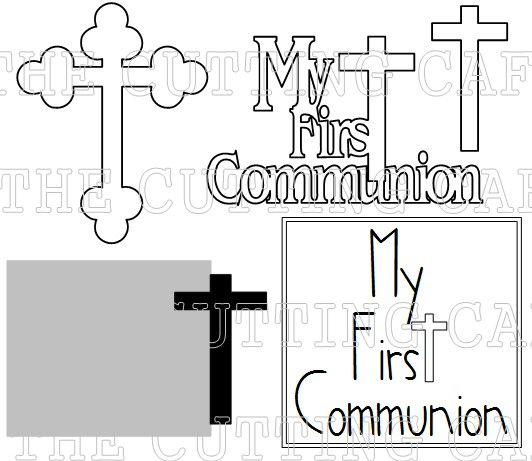 The 97 best Kommunion images on Pinterest   First holy communion ...