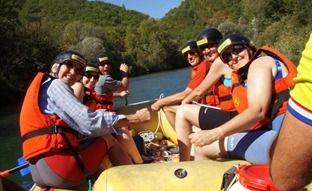 Croatia family adriatic adventure White water rafting, Cetina river rafting
