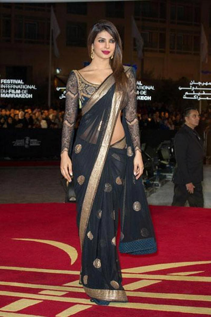 Top 10 saris the stars wore in 2012